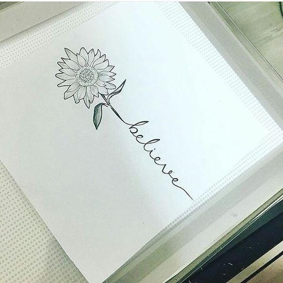 My next tat i think soo :D #favoriteflower #sunflower #tattoo #believe
