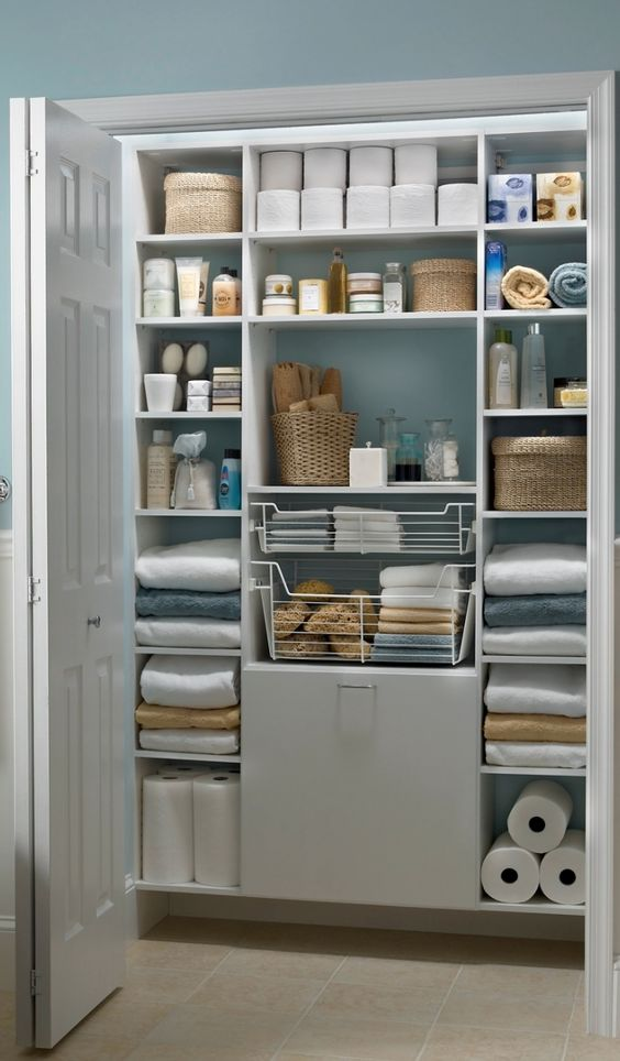 Best 25+ Linen Closets Ideas On Pinterest | Organize A Linen Closet,  Bathroom Closet Organization And Apartment Closet Organization