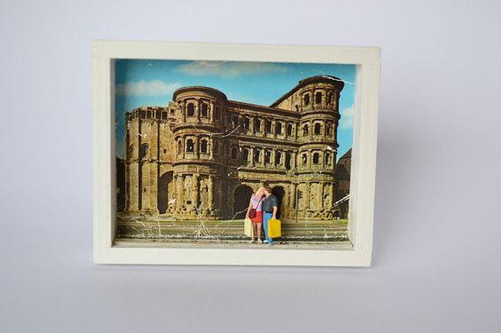 Mischtechniken - Trier - ein Designerstück von eyflia bei DaWanda