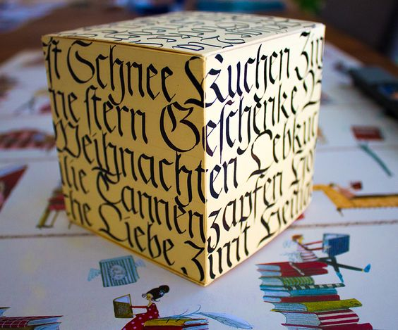 Weihnachtspaket Kalligrafie / Calligraphy Christmas Parcel