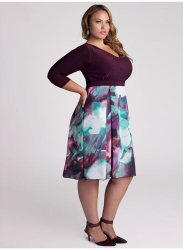 purple dress style and on