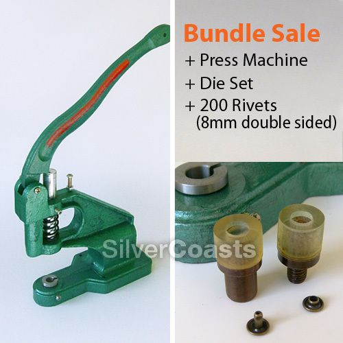 rivet machine for leather