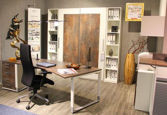 Heimarbeitsplatz mit funktionellen, platzsparenden Möbeln. | weko