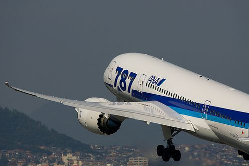 All Nippon Airways B787-8
