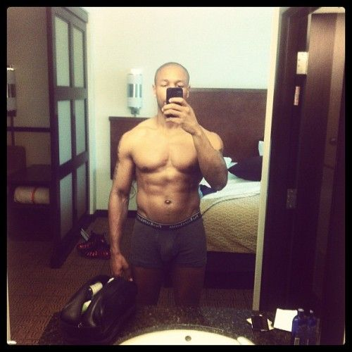 Tank shows off his man parts! LMAO