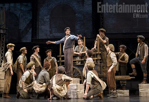 Newsies the musical! I saw it at Paper Mill Playhouse...and now on Broadway today! So fun...back in April for a third time. Seize the Day!