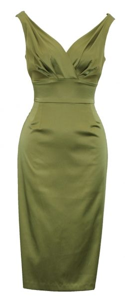 vintage 50's style dress. This also comes in aubergine...