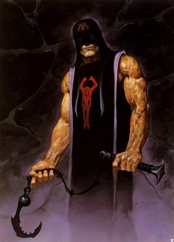 Rake Hell by Brom