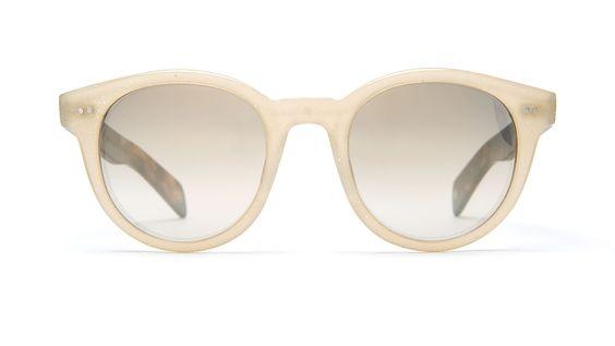 GLCO + AMELIE PICHARD-PAMELA Beige Glitter / Tortoise / Gold Sparkle Mirror