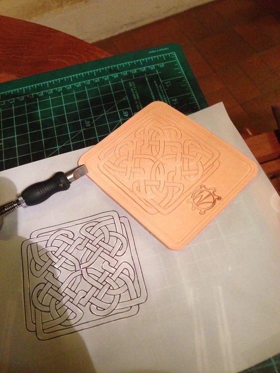 Porte carte Celtic   RF Turtle