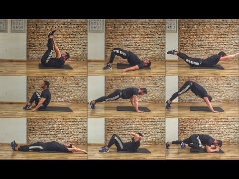 CIRCUIT-TRAINING para fortalecimento do CORE - YouTube