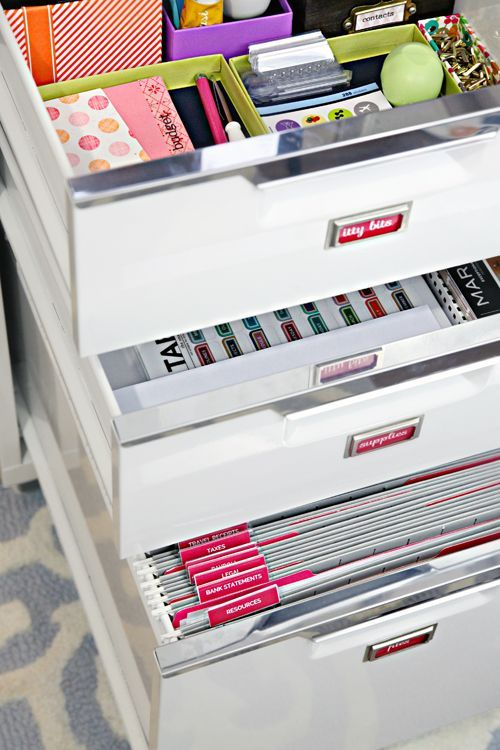 Home Office Filing Ideas Brilliant Filing Cabinet Organization  Iheart Organizing  Office . Design Inspiration