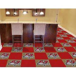 Tampa Bay Buccaneers Carpet Tiles