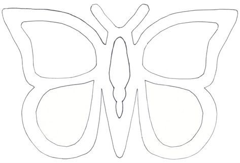 Schmetterling Basteln Schmetterlinge Aus 4