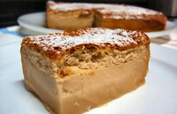 How to make Portuguese caramel magic cake.