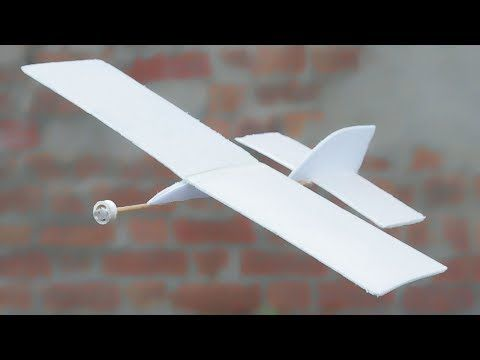 How To Make Flying Aeroplane Using Recycled Materials Aeroplane Recycled Materials Recycling