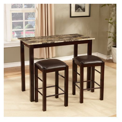 Breakfast Bar Set Kitchen 3 Piece Table Counter Stools Dining Island Furniture Product Description This Bre Counter Height Table Pub Table Sets Bar Table Sets