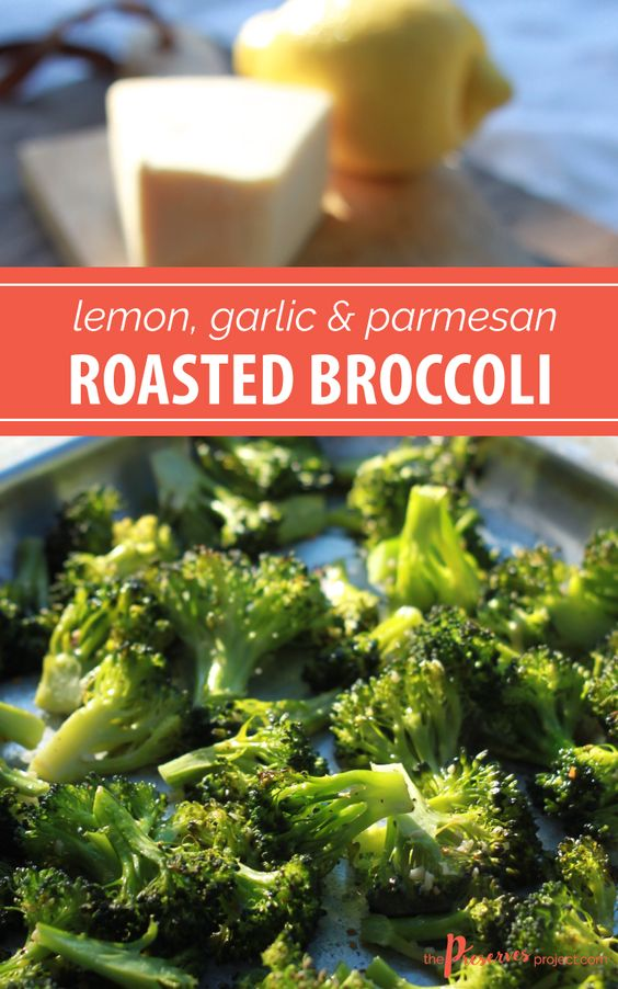dishes parmesan garlic lemon dishes roasted broccoli recipe broccoli ...