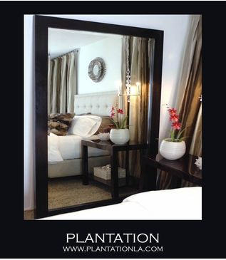 PLANTATION | Giant Alder Floor Mirror
