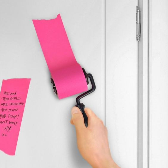 Oh so you're still using Post-its huh? That's a shame. Must be terrible living in that closed off garden of conformist non-creativity. Stuck in that 3 x 3 inch note-cubical Hell, the days of the square yellow standard are finally over! This rad... #beststickynotes #coolgadgets #coolofficesupplies