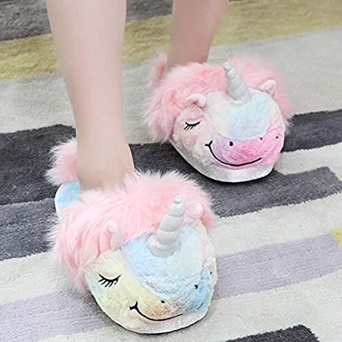 Anddyam Kids Family Unicorn Slippers Household Anti Slip Indoor Home Slippers For Girls And Boys Slippers For Girls Unicorn Slippers Unicorn Slippers Plush