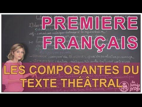 Analyse du texte théâtral : structure d'une pièce - Français Première - Les Bons Profs - YouTube