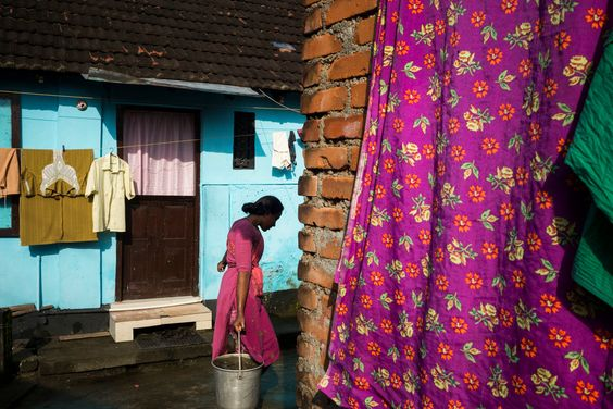 Alex Webb. INDIA. Fort Kochi. 2014