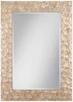 Capiz shell mirror 40 x 28 $300