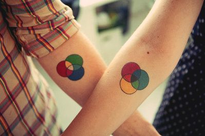 RGB CMY #tatto I want them *-*