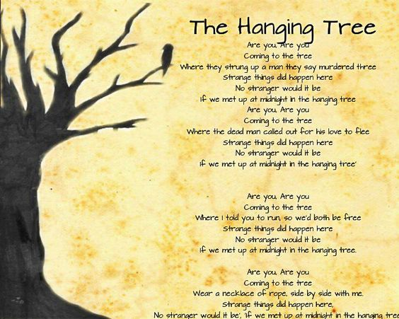 The hanging tree mockingjay oh god the version they made in the