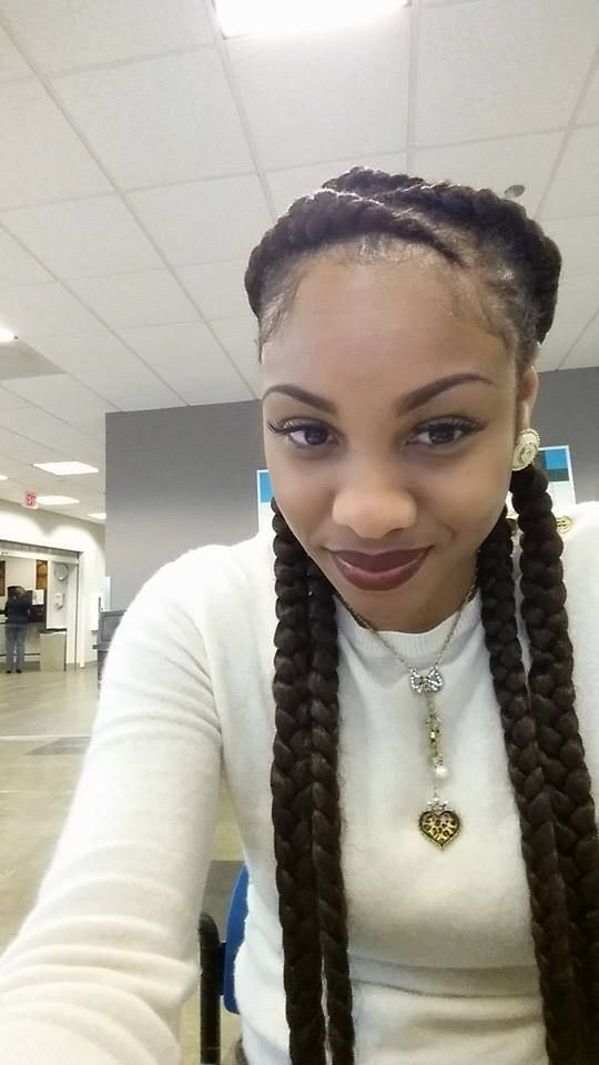 Easy Protective Styling Idea - http://www.blackhairinformation.com/community/hairstyle-gallery/braids-twists/easy-protective-styling-idea/ #braids #protectivestyling: