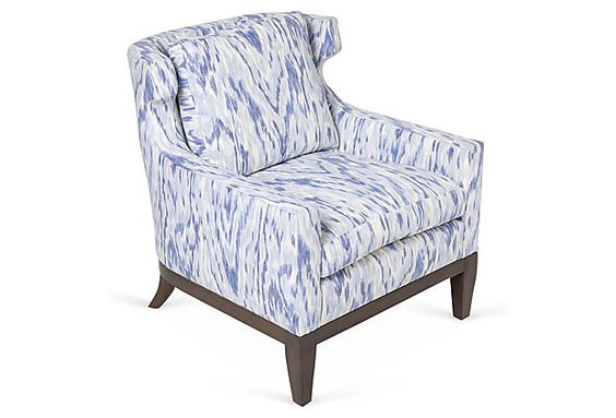 Cecil Chair, Watercolor on OneKingsLane.com