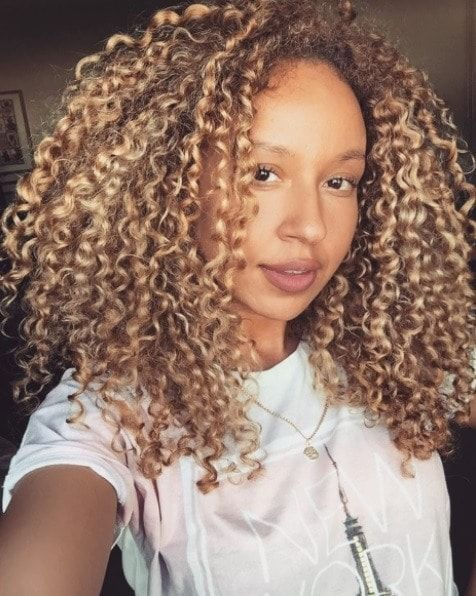 Pin By Luna B Boutique On Natural Hairstyles Blonde Curly