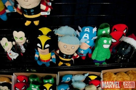 Marvel plush toys from Funko at Toy Fair 2011