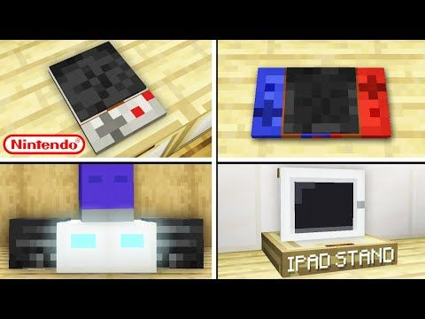 10 Electronic Designs In Minecraft Bedrock No Commands Youtube Minecraft Banner Designs Minecraft Tutorial Electronics Design