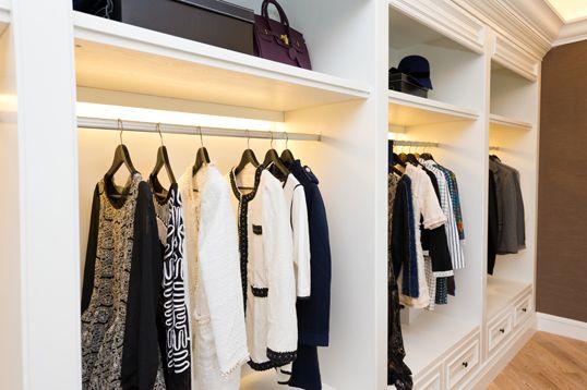 How Closet Lighting Can Really Brighten Your Day Interior Design Inspiration Beleuchtung Schrank Und Alltag