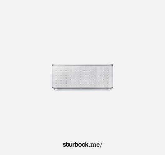 Mobiler Lautsprecher mit integriertem Akku. Hier entdecken und kaufen: http://sturbock.me/PtA