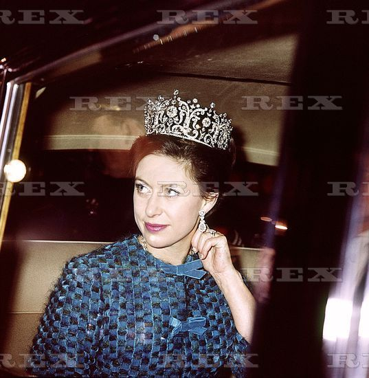 A clearer image of Princess Margaret at the same event as the previous pin