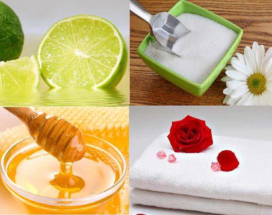 Đánh bay lông mặt bằng chanh và mật ong giúp da mịn màng
