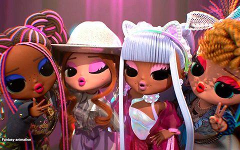 Lol Omg Remix Dolls Animated Versions Of Kitty K Honeyliciou Pop B B And Lonestar Lol Dolls Doll Drawing Lol