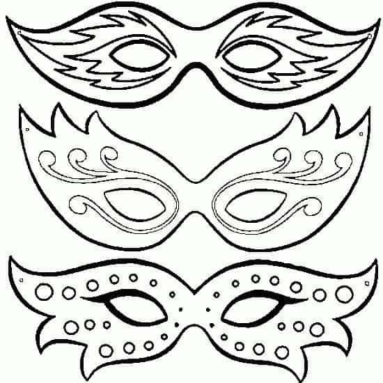 Maske Basteln Masken Basteln Faschingsmasken 15