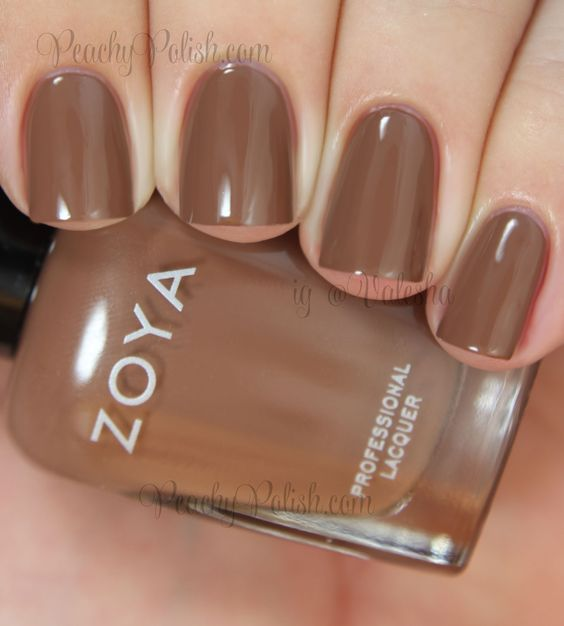 Zoya Chanelle | Naturel Deux Collection | Peachy Polish