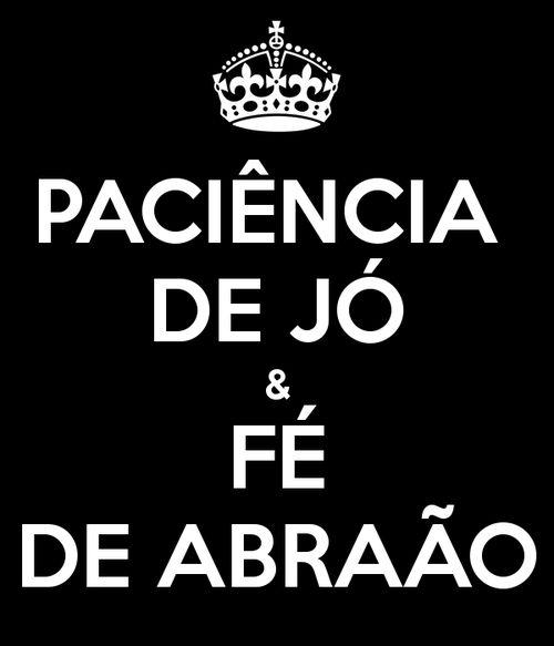 Paciência de Jó: