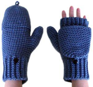 crochet glittens - I think I might need some of these!  :-) ♥❥Teresa Restegui http://www.pinterest.com/teretegui/❥♥