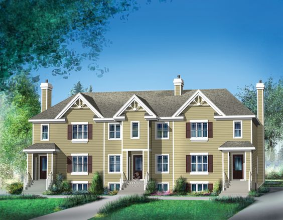 Very popular in the country, townhouses are an obvious choice for many weekend…