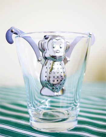 Tea infuser ~ I sell these infusers!! We have a Frog one too...so cute! www.mysteepedtea.com/tammystebbings to view our catalogue.