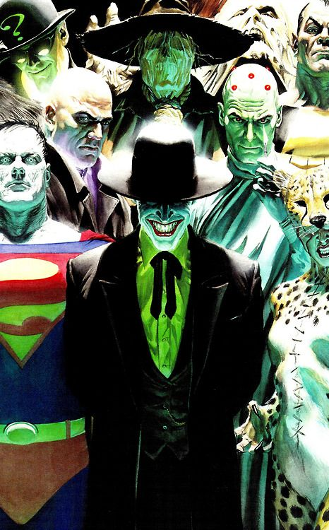 Legion of Doom by Alex Ross