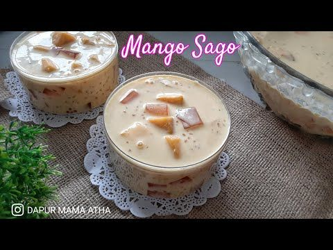 Mango Sago How To Make Mango Sago Youtube Di 2020 Makanan Manis Makanan Mango