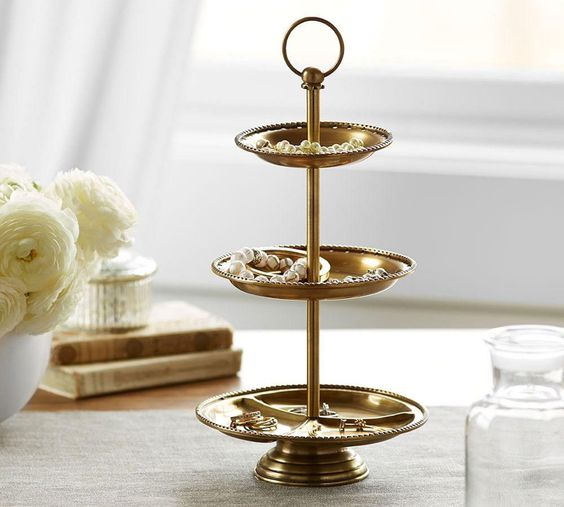 Classic Three Tiered Stand $104 gold