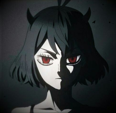 Nero Black Clover Blackclover Nero Seni Gelap Seni Anime Animasi
